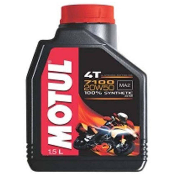 MOTUL 7100 4T 20W50 ENGINE OIL - 1.5L