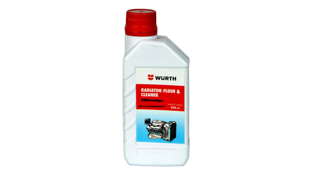 WUERTH RADIATOR FLUSH & CLEANER