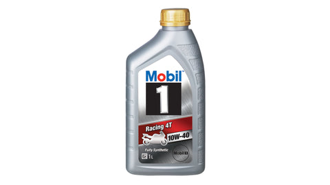 MOBIL1 RACING 4T 10W-40 ENGINE OIL - 1L
