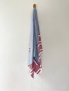turkish towel seven seas Australia agean red denim
