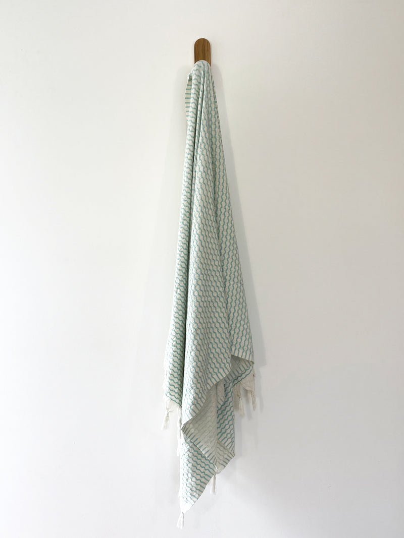 turkish towel seven seas Australia caspian mint