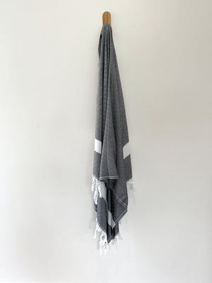 turkish towel seven seas Australia diamond black