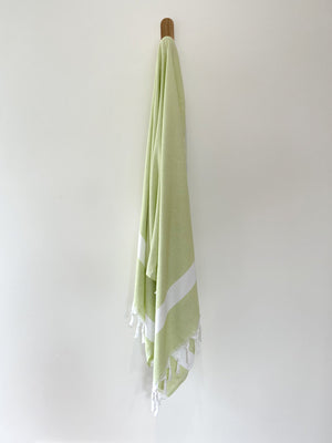 turkish towel seven seas Australia diamond lime