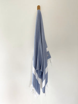 turkish towel seven seas Australia diamond navy