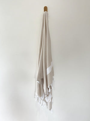 turkish towel seven seas Australia diamond oatmeal