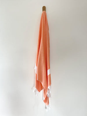 turkish towel seven seas Australia diamond orange