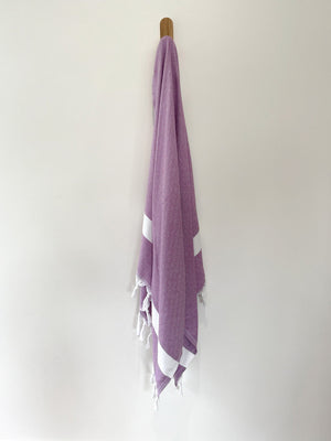 turkish towel seven seas Australia diamond purple