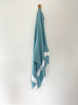 turkish towel seven seas Australia diamond teal