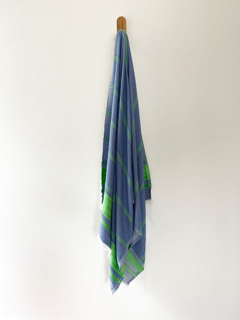 turkish towel seven seas Australia pacific blue green apple