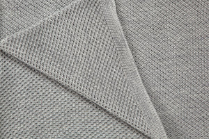 Hand knitted pure merino wool baby blankets by Pure Simple Chic design