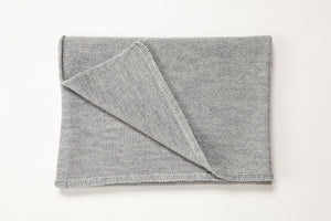 Simple Soft merino baby blanket