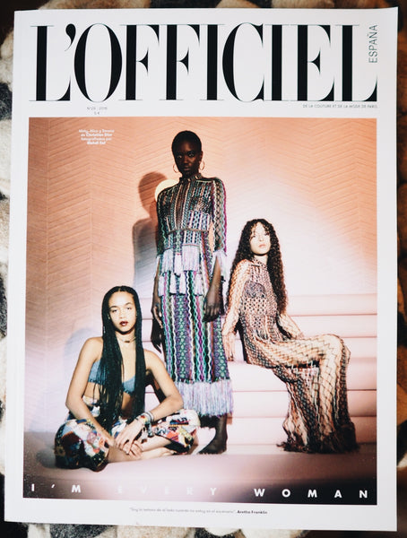 ¡Salimos en L'Officiel Spain!