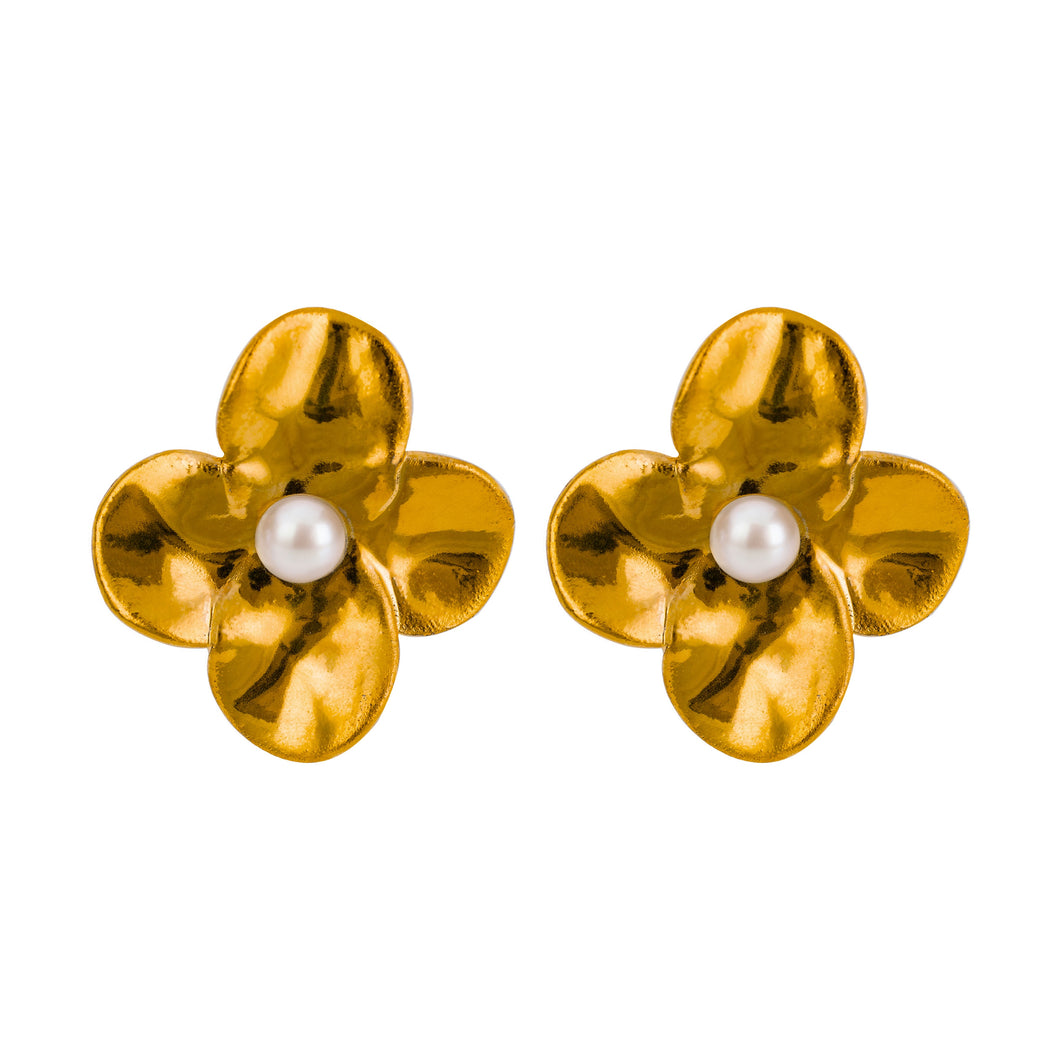 GOLD JAZMÍN earrings