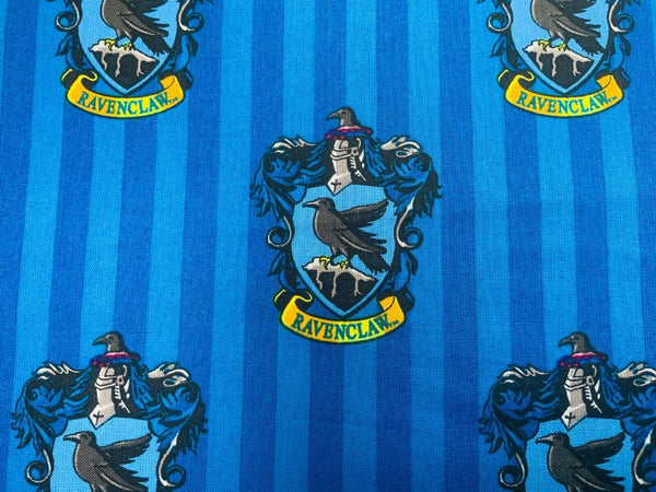 Harry Potter Fabric Blue Ravenclaw Cotton Fabric Craft Cotton Disney Fabric