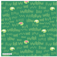 "Green Lily Pad Pond Cotton Fabric - Width Approx. 112cm/44"" Sold by the Metre"