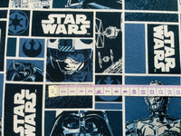 Star Wars Fabric Black Vader R2D2 Cotton Fabric Craft Cotton Boys Fabric Luke