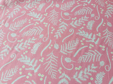 Load image into Gallery viewer, Hawaiian Vibrant Cotton Fabric Blue Pink Quilting Fabric Upholstery Quilt Fabric - Kims Crafty Corner
