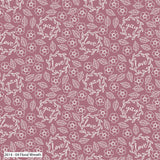 Pink Wedding Fabric, Cotton Fabric, Hearts Floral Fabric, Heart Fabric, Love