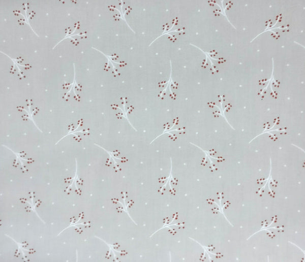 "Beige Leaves Nursery Cotton Fabric - Width Approx. 112cm/44"" Sold by the Metre"