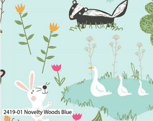 Woodland Cotton Fabric Collection - Kims Crafty Corner