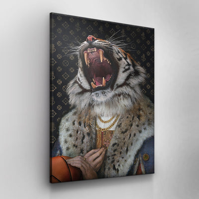Tiger King (Canvas)