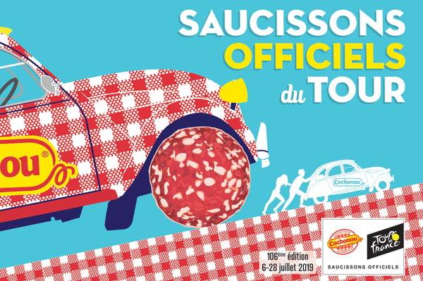 L'affiche Cochonou Tour de France -  édition 2019