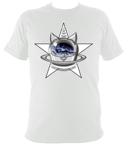 SUMMER COLLECTION - CATS in SPACE - StarCat Men's Comfort Fit Tee