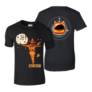 CLASSIC COLLECTABLES - 'Andy Kitson Scarecrow' T-Shirt (Orange on Black)