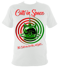 Load image into Gallery viewer, 'CAT SWIRL' MY KIND OF CHRISTMAS TEES!