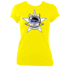 Load image into Gallery viewer, SUMMER COLLECTION - CATS in SPACE - StarCat Women's Fitted Tee