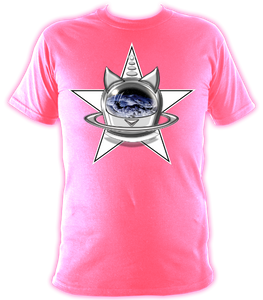 SUMMER COLLECTION - CATS in SPACE - StarCat Women's Loose Fit Tee