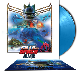 "ATLANTIS - The New Album - 12"" 180g VINYL LP - AVAILABLE IN TWO COLOURS"