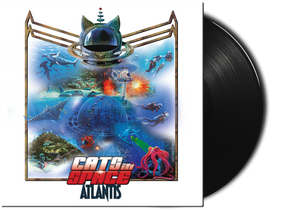 "ATLANTIS - The New Album - 12"" 180g VINYL LP - CLASSIC BLACK VINYL"