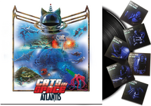 "Load image into Gallery viewer, ATLANTIS - The New Album - 12"" 180g VINYL LP - CLASSIC BLACK VINYL"