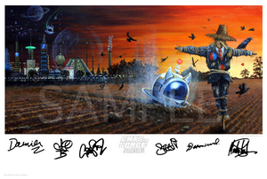 "GATEFOLD ALBUM ART prints 24"" x 16"""