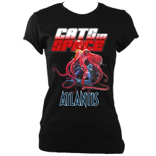 Load image into Gallery viewer, ATLANTIS OCTOPUS Black Tee - Unisex and Women's Styles