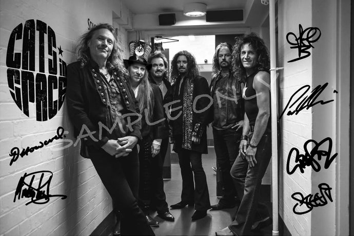 SIGNED CiS Backstage De Montfort Hall, Leicester - THUNDER tour 2017
