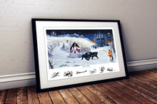 "Load image into Gallery viewer, DAYTRiP to NARNiA - band signed album artwork by Andy Kitson print 32"" x 20"""