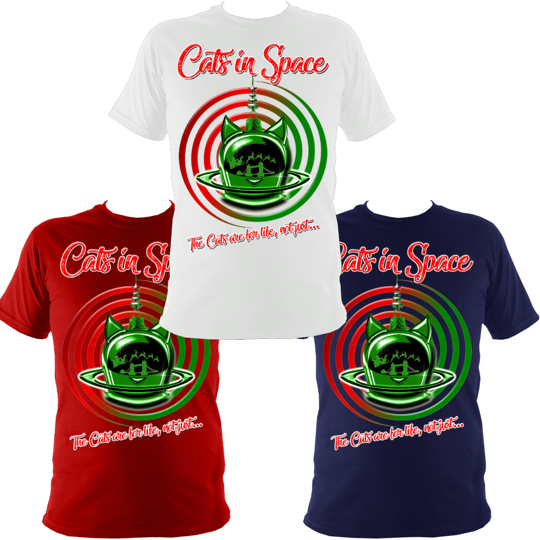 'CAT SWIRL' CHRISTMAS 2019 TOUR TEES! Almost sold out...