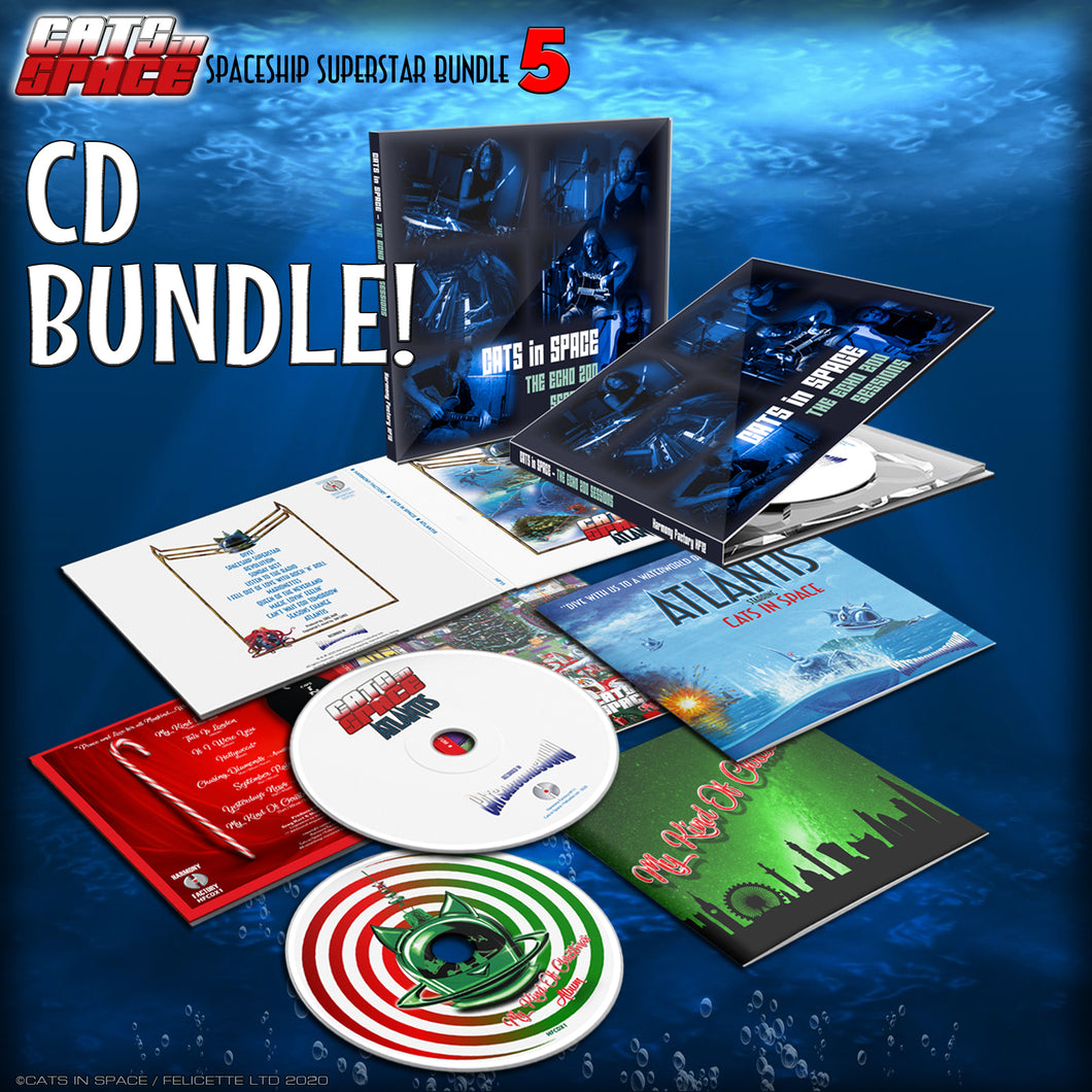 ATLANTIS 'SPACESHIP SUPERSTAR' BUNDLE No 5 - worth £40 if bought separately!