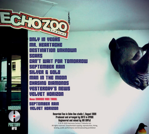 CATS IN SPACE - THE CHILLED 'ECHO ZOO SESSIONS' CD