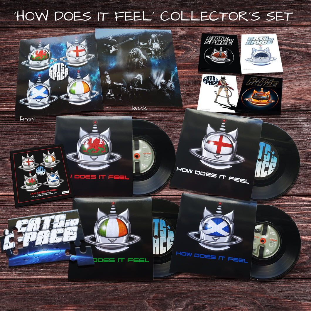 'HOW DOES IT FEEL' GIFT WRAPPED LIMITED EDITION COLLECTORS' SET!