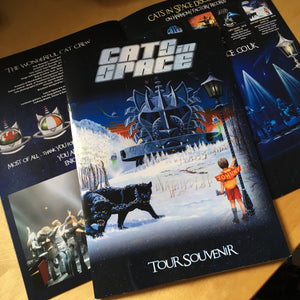 CATS IN SPACE 'NARNIA TOUR Part 1' Tour Souvenir