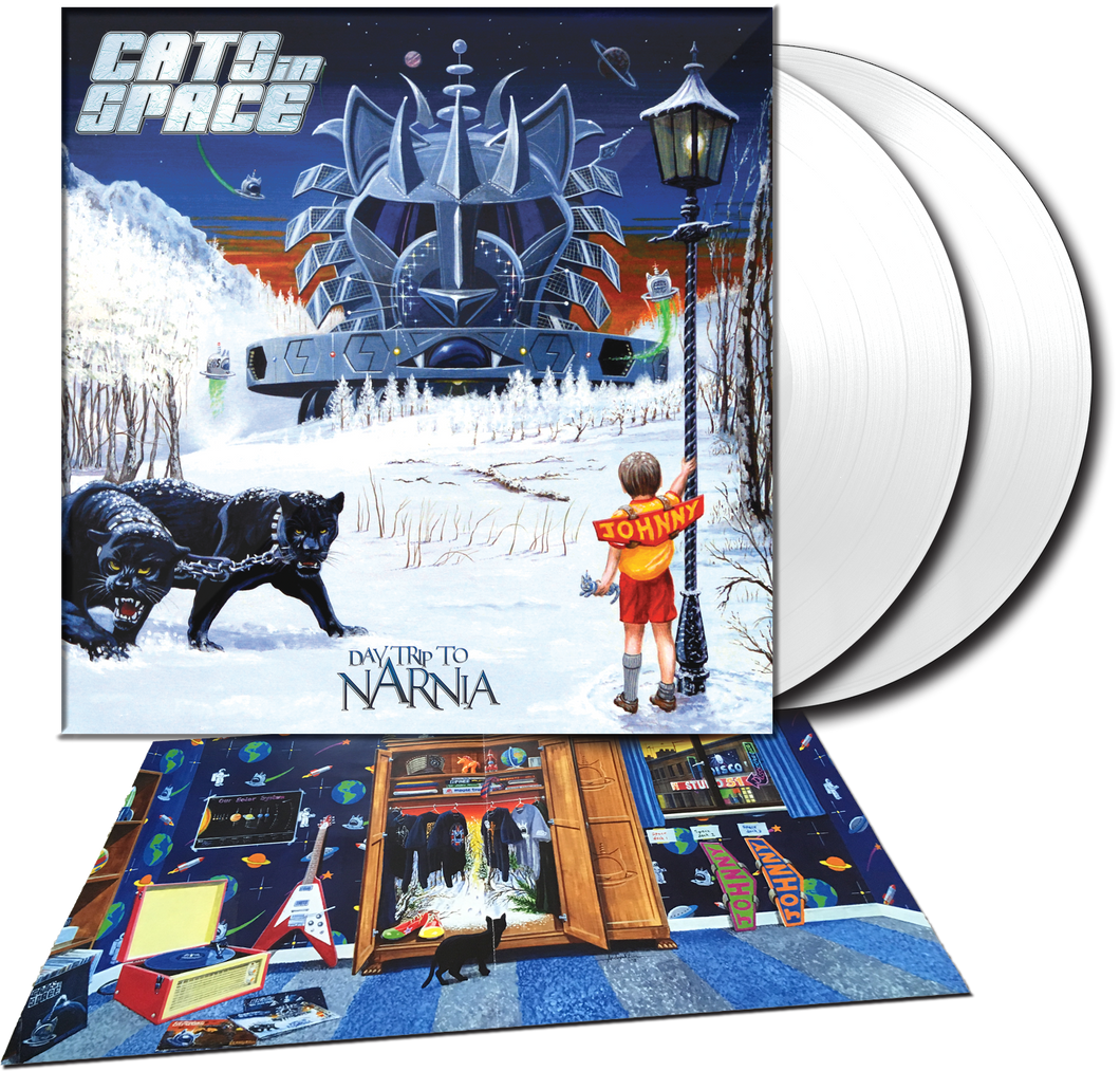 "DAYTRIP to NARNIA - 2019 ALBUM - 12"" DOUBLE GATEFOLD ICE WHITE VINYL LP"