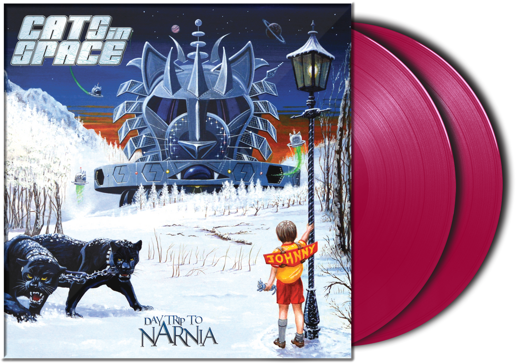 "DAYTRIP to NARNIA - 2019 ALBUM - 12"" DOUBLE GATEFOLD 'TURKISH DELIGHT' VINYL LP"