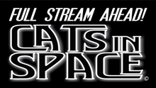 Load image into Gallery viewer, FULL STREAM AHEAD! - CATS in SPACE Live USB!