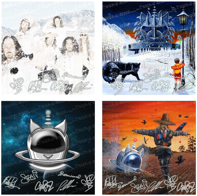 "BAND SIGNED 12"" ART PRINTS"