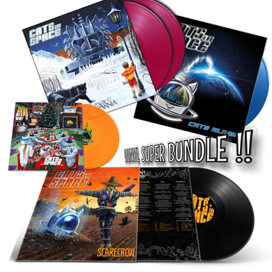 CATS in SPACE 2020 Vinyl Super Bundle!  *ONLY 6 LEFT!*