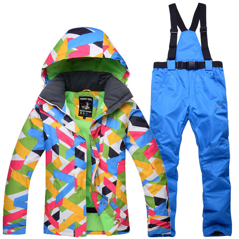 New Ski Suit Outdoor Suit Waterproof  Warm