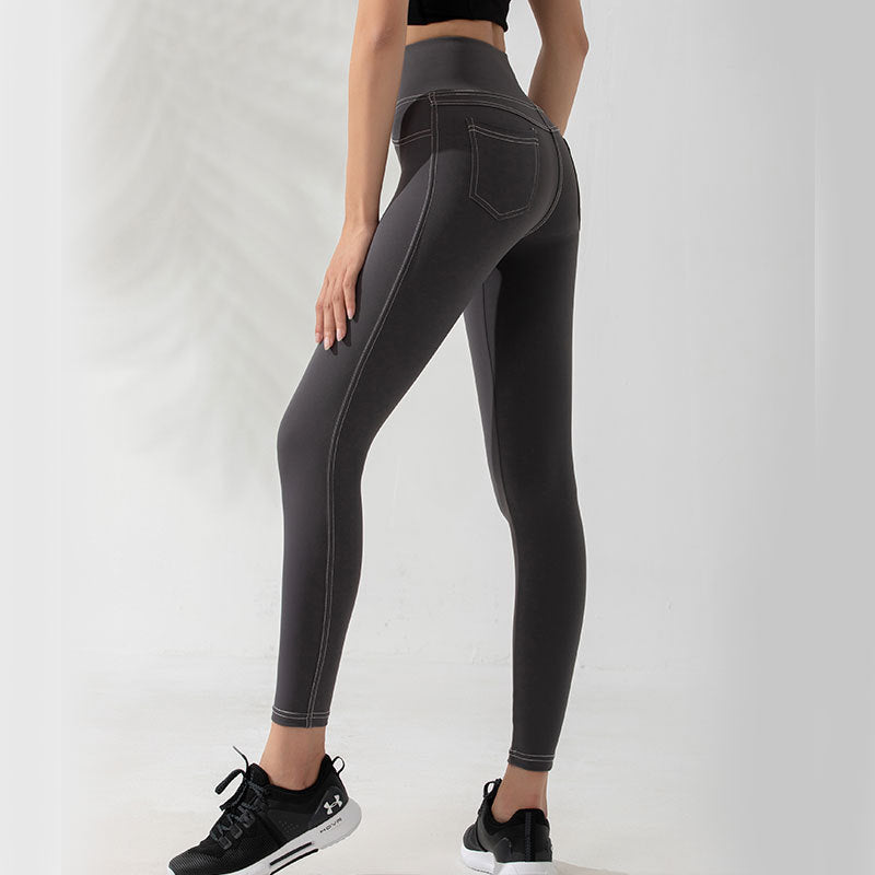 Fitness Fast Dry Breathable Running Tight Training Yoga Pants
